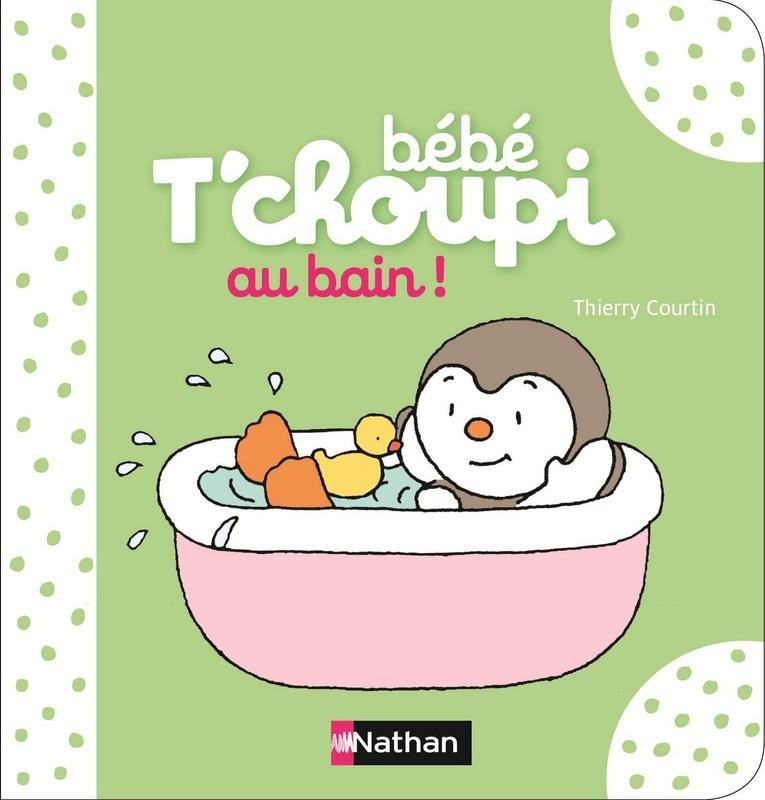 tchoupi bain